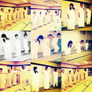 神聖舞踏「グルジェフ・ムーヴメンツ」奉納 @鷺ノ宮八幡神社