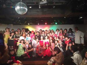 """☆★☆年末恒例!☆★☆第七回""""バガボンドナイト""""vs""""サラヴァ東京""""歌合戦"""